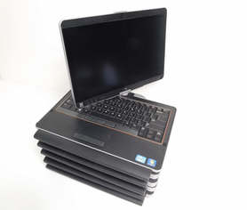5x Laptop Dell XT3 i7-2540M 4GB 128SSD 1366x768 Windows 7 Professional