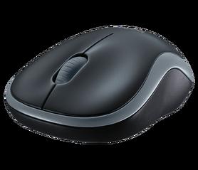 Mysz bezprzewodowa Logitech M185 - szara